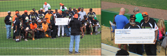 Baseball Alum Make Donation